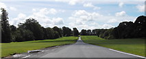 SD6838 : Drive to Stonyhurst College, Hurst Green, Clitheroe BB7 9PZ by Robert Wade