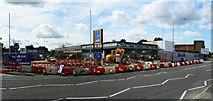 SU1584 : Site of Aldi supermarket, Drove Road, Swindon by Brian Robert Marshall