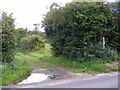 TM4358 : Sloe Lane Bridleway to the B1069 Snape Road by Adrian Cable