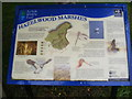 TM4358 : Information Board at Hazelwood Marshes by Adrian Cable