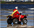 C8036 : RNLI All terrain vehicle, Portstewart by Rossographer