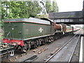 SK5419 : Loughborough: Great Central Railway & ex-WR 4-6-0 6990 Witherslack Hall by Nigel Cox