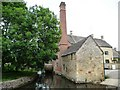 SP1622 : Changing power sources at the Old Mill, Lower Slaughter by Christine Johnstone