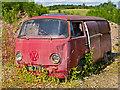 NN9116 : Disused campervan by William Starkey
