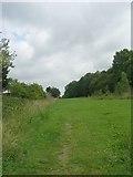 SE1537 : Footpath - Carr Lane by Betty Longbottom