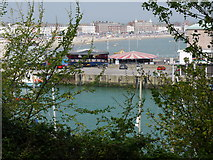 SY6878 : View from the Nothe Gardens towards the Pavilion by sue hogben