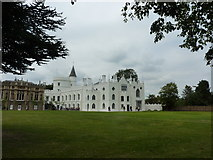 TQ1572 : Strawberry Hill House, Waldegrave Road, Richmond by pam fray