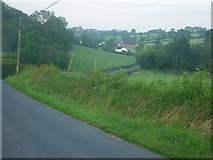 H6836 : Rural country scene along the minor road by C Michael Hogan