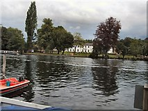 SU7682 : View across River Thames - Henley by Paul Gillett