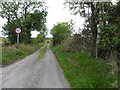G7791 : Road at Gortnacart by Kenneth  Allen