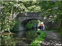 SD9926 : Rochdale Canal, Bridge 15 by David Dixon