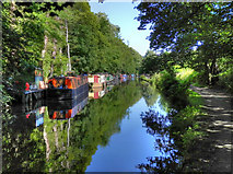 SD9926 : Rochdale Canal by David Dixon
