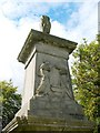 NS6067 : 1820 Martyrs' Monument, Sighthill Cemetery by Lairich Rig