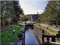 SD9927 : Rochdale Canal, Blackpit Lock by David Dixon