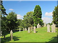NY9257 : The churchyard of St. Helen's  Church, Whitley Chapel by Mike Quinn