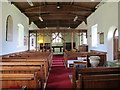 NY9257 : St. Helen's  Church, Whitley Chapel - interior by Mike Quinn