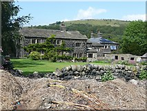 SE0026 : Carr House Farm, Mytholmroyd by Humphrey Bolton