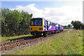 SD4665 : Morecambe to Leeds train near Bare by Ian Taylor