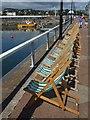 SX9163 : Deckchairs, Princess Parade by Derek Harper