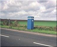 SK6739 : An RAC Telephone Box near Saxondale by David Hillas