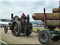 SO8040 : Welland Steam Rally - round timber haulage by Chris Allen