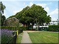TQ4159 : Northern gate, Biggin Hill recreation ground by Robin Webster