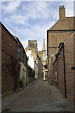 NZ2742 : Bow Lane, Durham by Paul Harrop