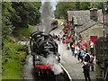 SE0337 : Steam Train at Haworth Station by David Dixon
