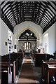 SO5770 : Interior of Greete church by Philip Halling