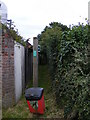 TM4160 : Footpath to Low Road & Chase's Lane by Adrian Cable