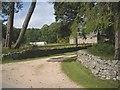 NJ5310 : Access to steading, Leochel-Cushnie House by Stanley Howe