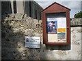 NJ5210 : Cushnie & Tough Parish: Notice board by Stanley Howe