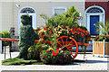 O2428 : Flower Feature, Dun Laoghaire, Ireland by Christine Matthews