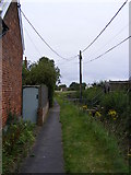 TM4160 : Church Path footpath to Grove Road by Geographer