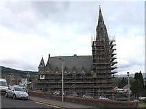 NS1776 : St John's Church, Dunoon by David P Howard