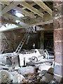 SP0647 : Harvington Watermill - the interior by Chris Allen