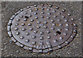 J3475 : Millfield Foundry manhole cover, Belfast (3) by Albert Bridge