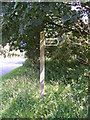 TM3050 : Bridleway to the B1083 sign by Adrian Cable