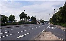 SJ7996 : Village Way, Trafford Park by Ian Greig