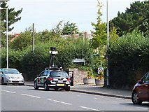 SX9392 : Google streetview car in Exeter by David Smith