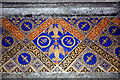 TQ0934 : Holy Trinity, Rudgwick - Tiles by John Salmon