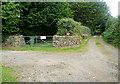 SW5133 : Driveway at Tregender Vean by Graham Horn