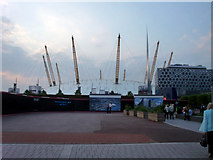 TQ3980 : O2 Arena, Greenwich by Christine Matthews