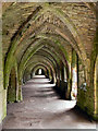 SE2768 : Fountains Abbey, The Cellarium by David Dixon