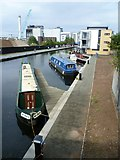 NT2472 : Union Canal from the bridge at Viewforth by kim traynor
