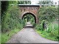 TM0832 : Footpath under railway by Roger Jones