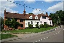 TL7835 : Houses in Nunnery Street, Castle Hedingham, Essex by Lee Holmes