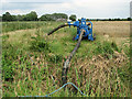 TG3916 : Drainage pump in fields near Ludham by Evelyn Simak