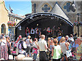 TQ8109 : Superfunk Pirates at Queen's Square by Oast House Archive