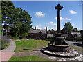 SJ2285 : Caldy Village Green by J Scott